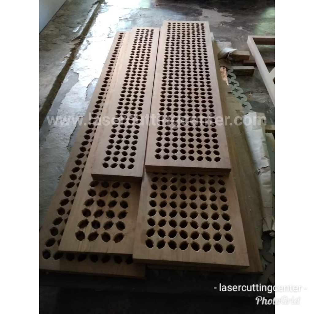 Jasa Laser Cutting Kayu Solid